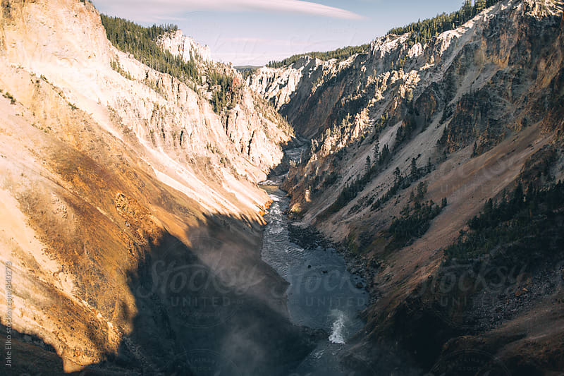Yellowstone Canyon by Jake Elko for Stocksy United