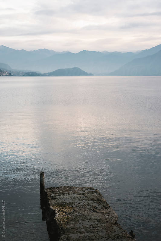 Lake Como view by Simone Becchetti for Stocksy United