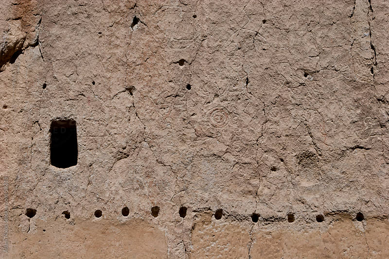 Bandelier National Monument Cliff Dwelling, Close-up by Adam Nixon for Stocksy United