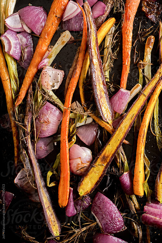 Roasted Vegetables by Jeff Wasserman for Stocksy United