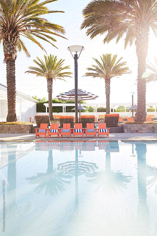 Kiddie Swimming pool at luxury resort/hotel by Trinette Reed for Stocksy United