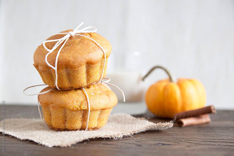 Homemade Pumpkin Muffins by Nataša Mandić for Stocksy United