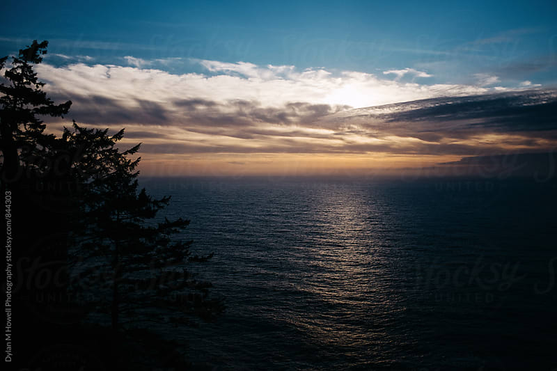 The Oregon Coast at Sunset. by Dylan M Howell Photography for Stocksy United