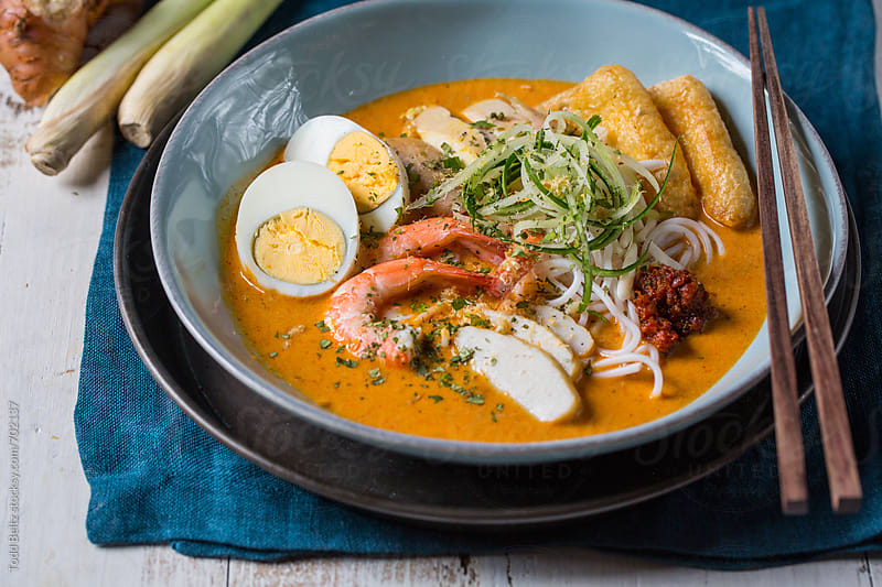 Laksa by Todd Beltz for Stocksy United