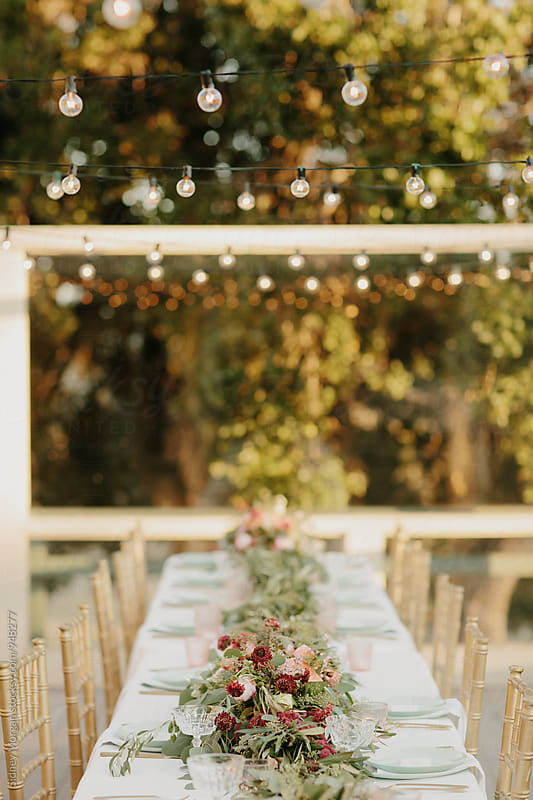Wedding Reception by Sidney Morgan for Stocksy United