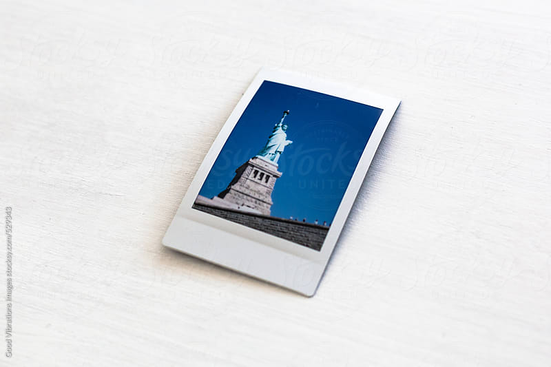 Printed picture of the Statue of Liberty by Good Vibrations Images for Stocksy United