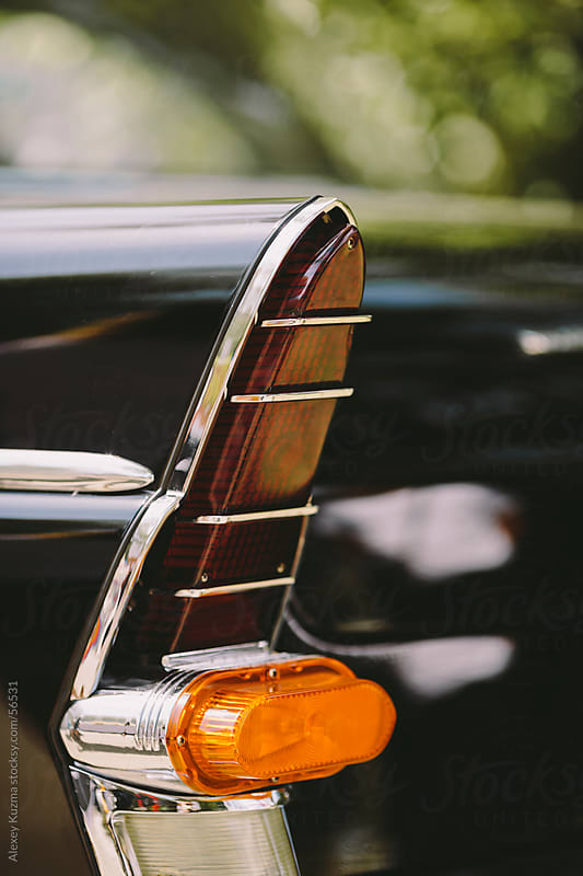 closeup of classic luxury car by Alexey Kuzma for Stocksy United