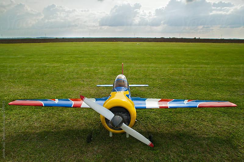 Handmade model airplane by Jelena Jojic Tomic for Stocksy United