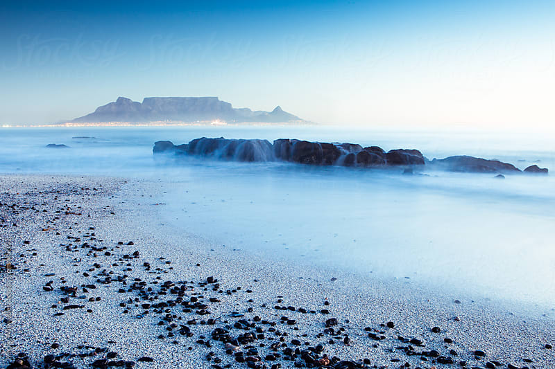 Table Mountain, Cape Town, South Africa by Micky Wiswedel for Stocksy United