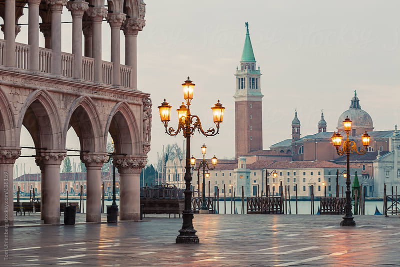 Venice at Dawn by Tom Uhlenberg for Stocksy United
