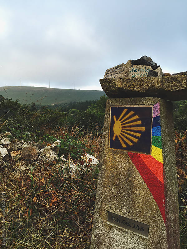 Camino de Santiago's Shell by Luca Pierro for Stocksy United