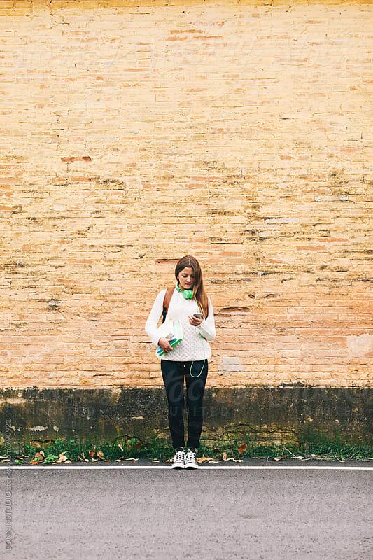 Schoolgirl portrait. by BONNINSTUDIO for Stocksy United