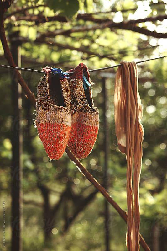 Old socks by Ani Dimi for Stocksy United