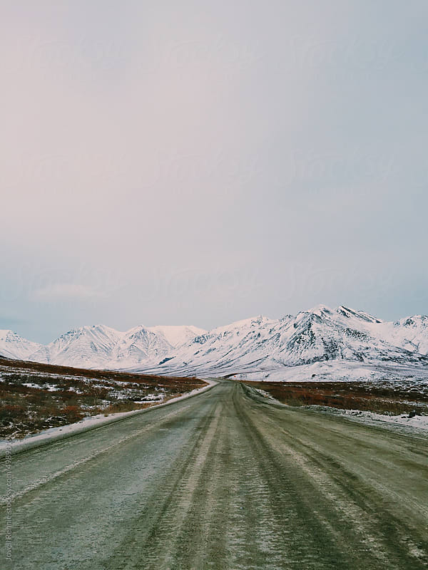 Atigun Pass, AK. by Jovell Rennie for Stocksy United