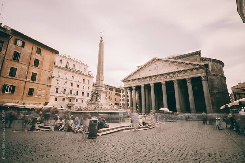 Pantheon Rome, Italy by Davide Illini for Stocksy United
