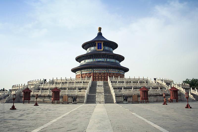 temple of heaven,Beijing by zheng long for Stocksy United