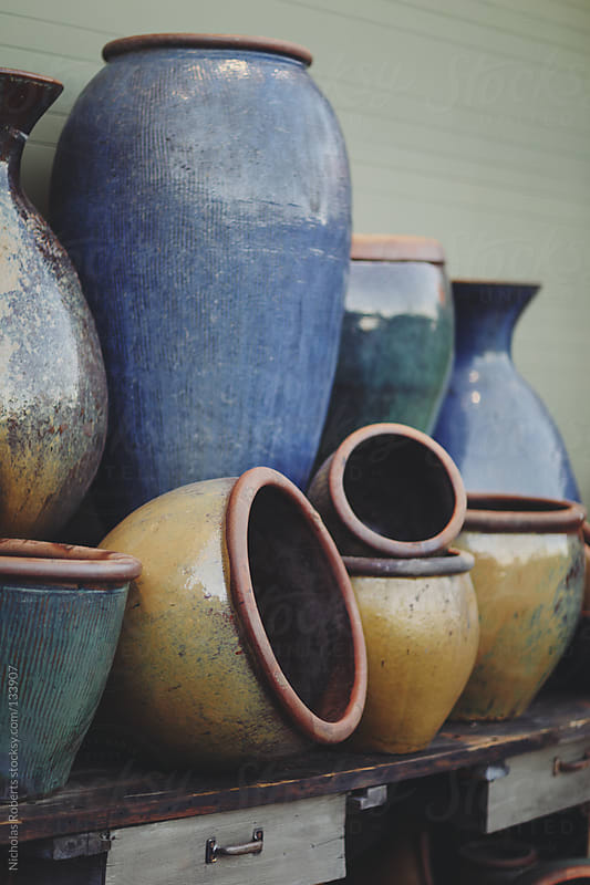 Large Pots by Nicholas Roberts for Stocksy United