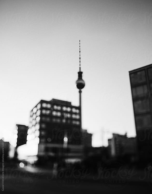 Berlin in Black and white by Good Vibrations Images for Stocksy United