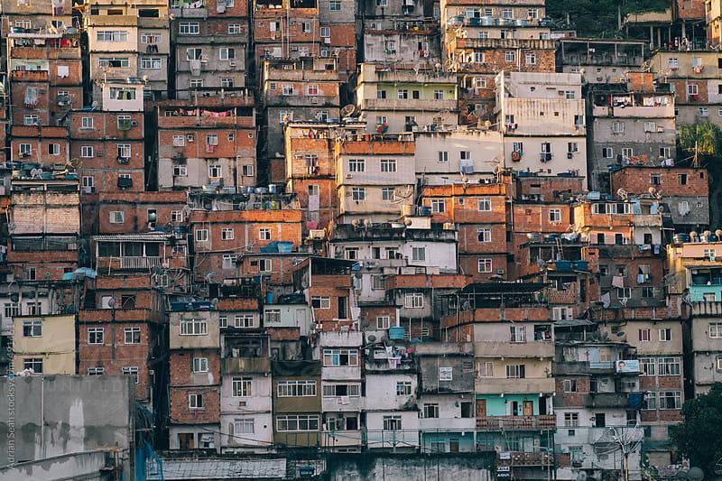 Favelas (Slums) in Rio de Janeiro, Brazil by Adrian Seah for Stocksy United