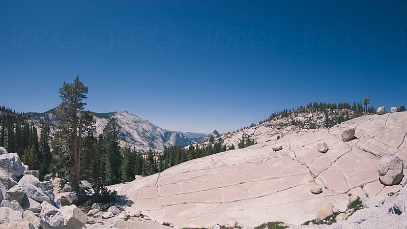 Half Dome is way over there! by Brian Koprowski for Stocksy United