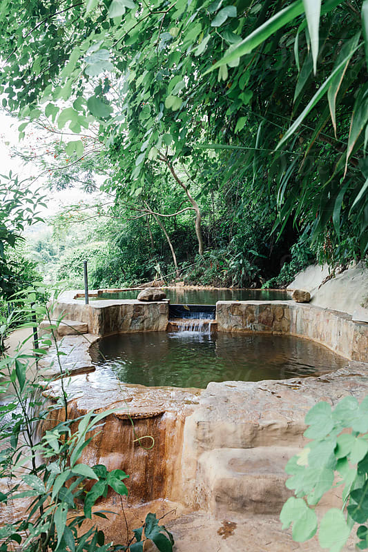 natural water pool by jira Saki for Stocksy United