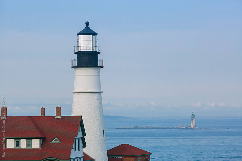 Portland Head Lighthouse  by Raymond Forbes LLC for Stocksy United