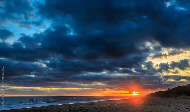 Montauk Sunset by alan shapiro for Stocksy United