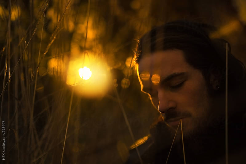 Man Portrait in Autumn Mood by HEX. for Stocksy United