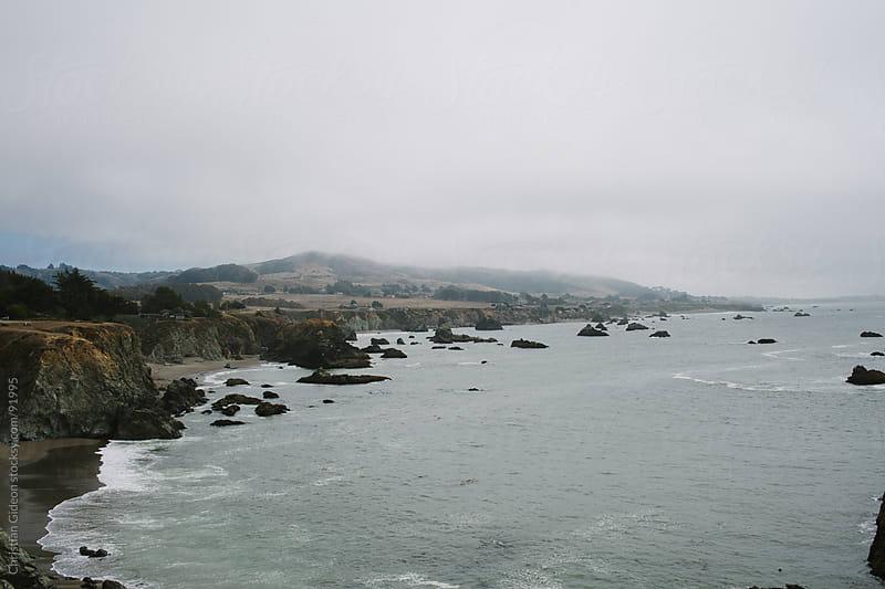 Rocky Ocean Shoreline by Christian Gideon for Stocksy United