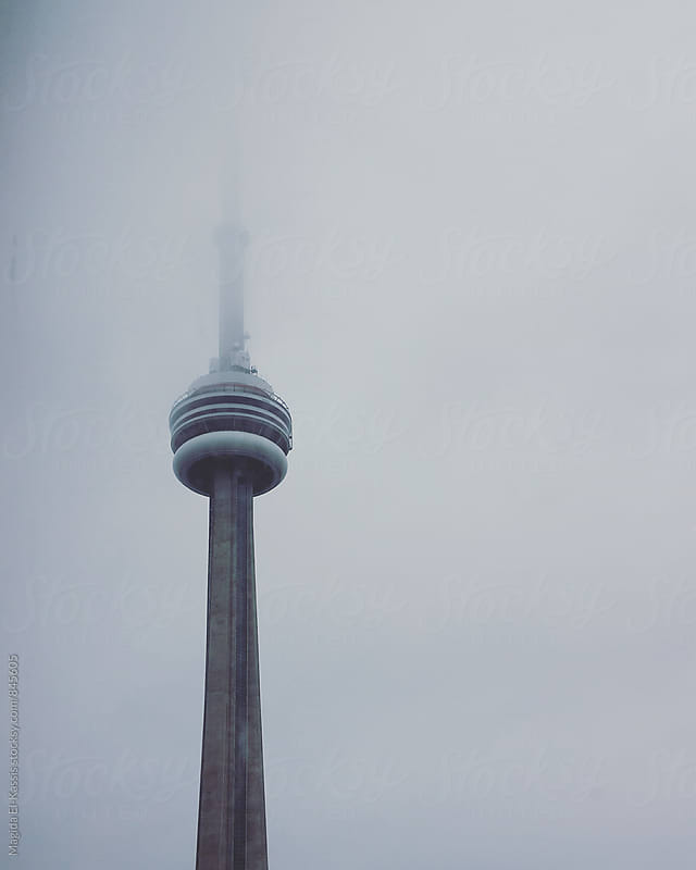 cn tower by Magida El-Kassis for Stocksy United