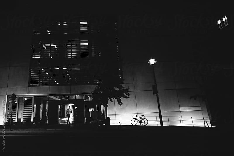 Urban scene by night by michela ravasio for Stocksy United
