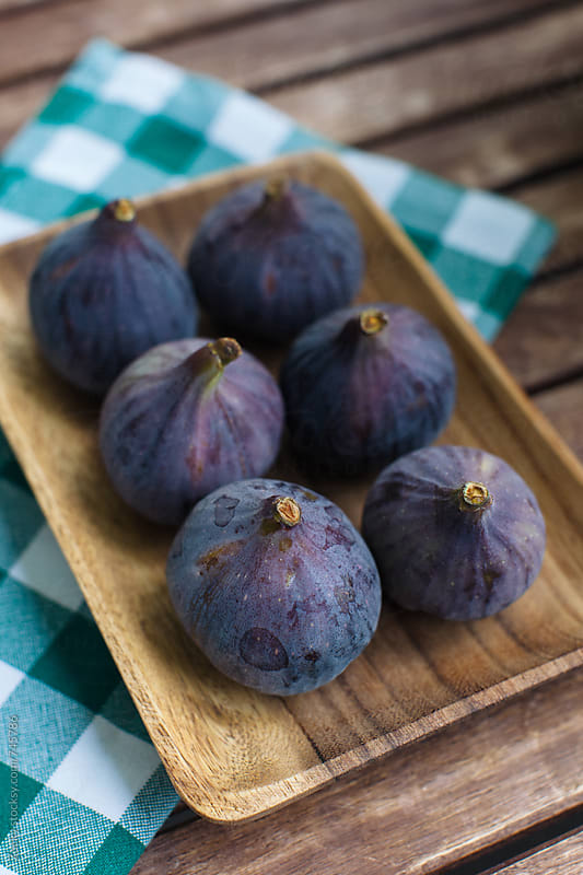 Figs on a plate by Zocky for Stocksy United