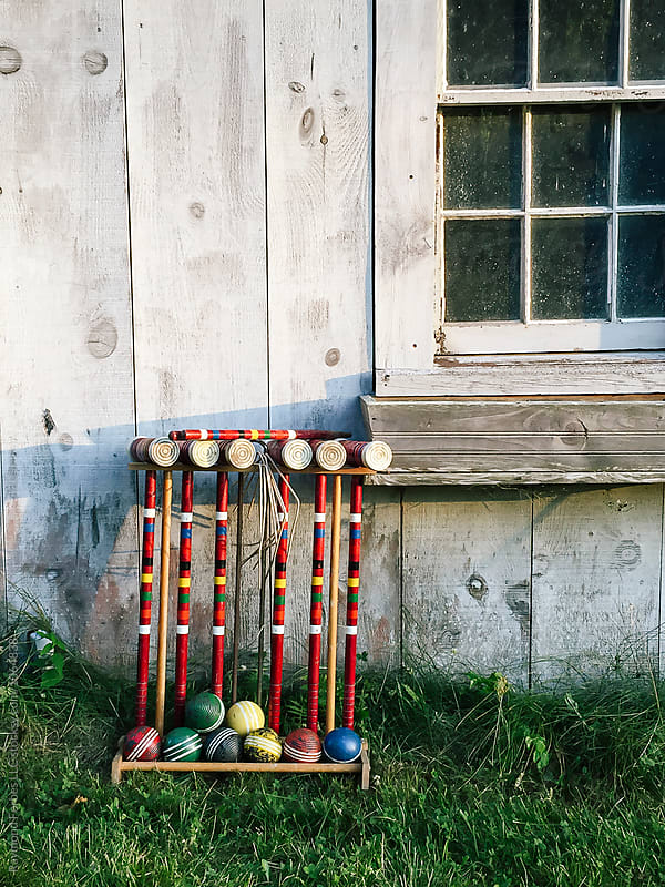 Vintage Croquet Set by Raymond Forbes LLC for Stocksy United