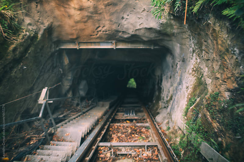 Traveling inside the railway scenic world by Leandro Crespi for Stocksy United
