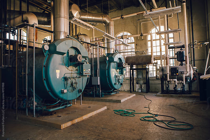 Enormous Boiler by Raymond Forbes LLC for Stocksy United