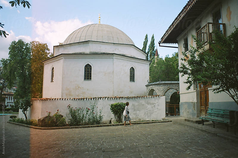 A film photo of old mosque in Crimea  by Anna Malgina for Stocksy United