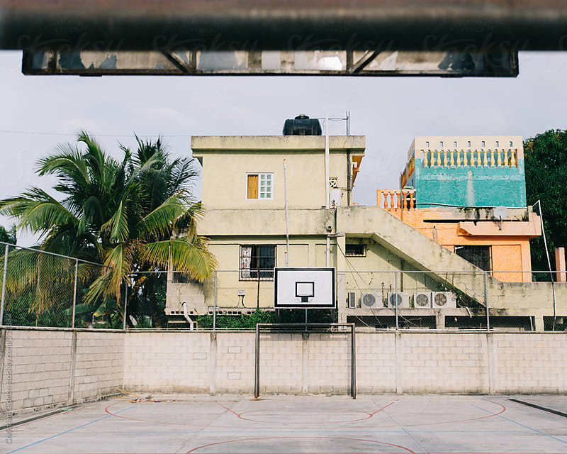 Basketball playground by Christian Gideon for Stocksy United