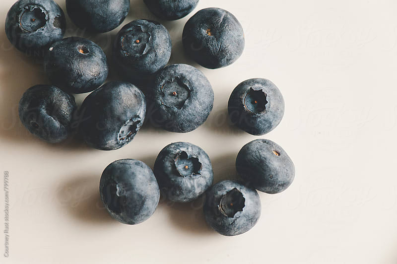 Fresh blueberries by Courtney Rust for Stocksy United