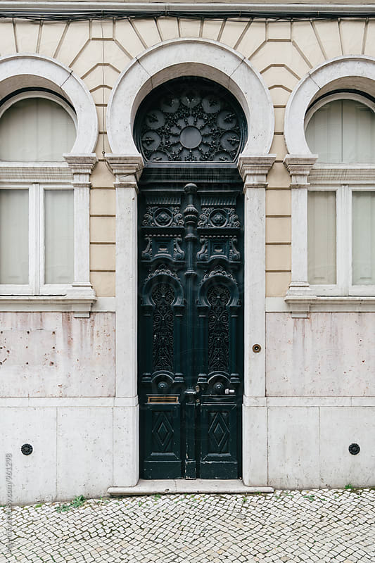 Lisbon Doorways by Agencia for Stocksy United