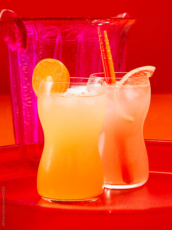 Citrus Cocktails by Jill Chen for Stocksy United