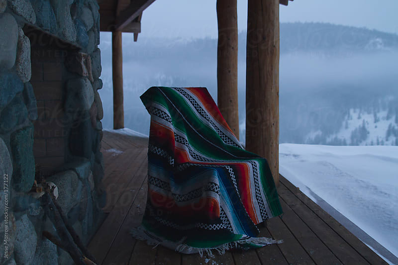 Chair in the cold by Jesse Morrow for Stocksy United