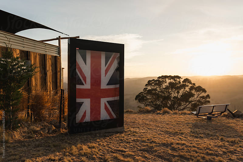 Glamping Bed & Breakfast in Australia outback by Trent Lanz for Stocksy United