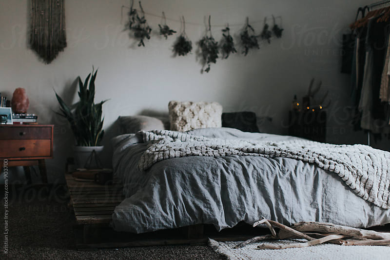 Bedroom by Kristian Lynae Irey for Stocksy United