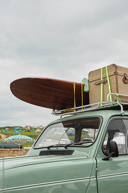 Surf Car by Oscar Parasiego for Stocksy United