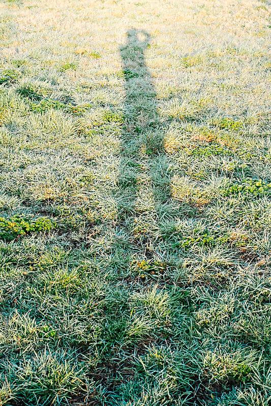 Man shadow by Sam Burton for Stocksy United