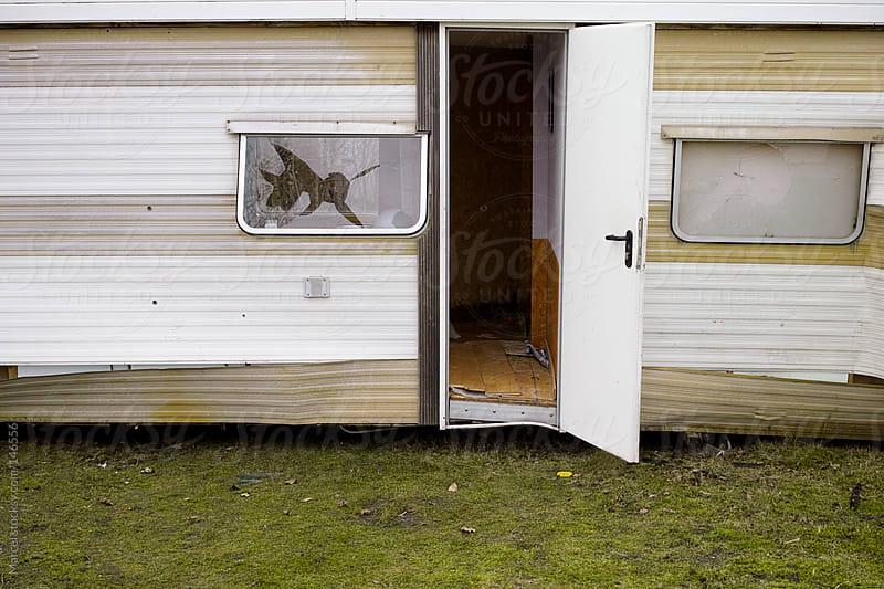 Old caravan by Marcel for Stocksy United
