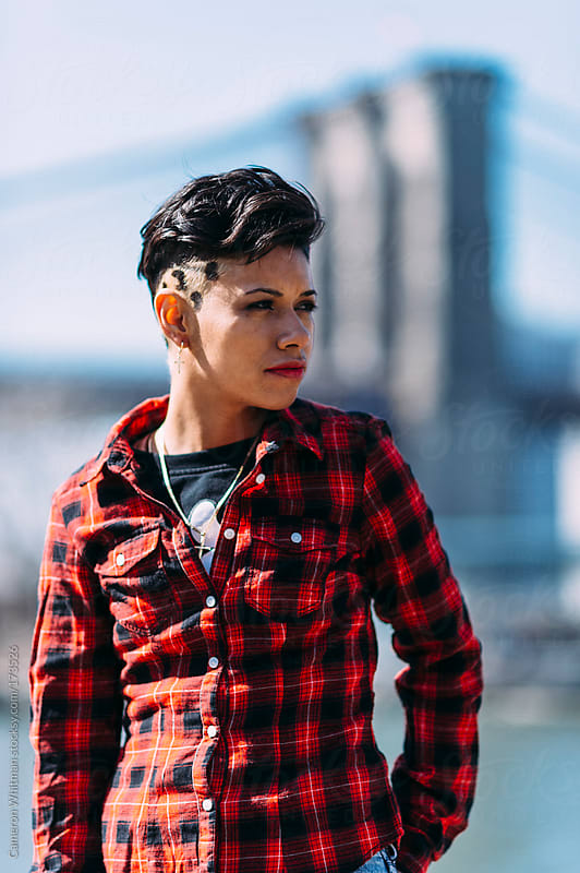New York girl portrait  by Cameron Whitman for Stocksy United