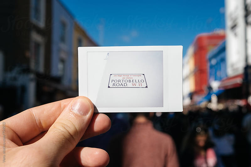 Portobello Road and Street Market by Good Vibrations Images for Stocksy United