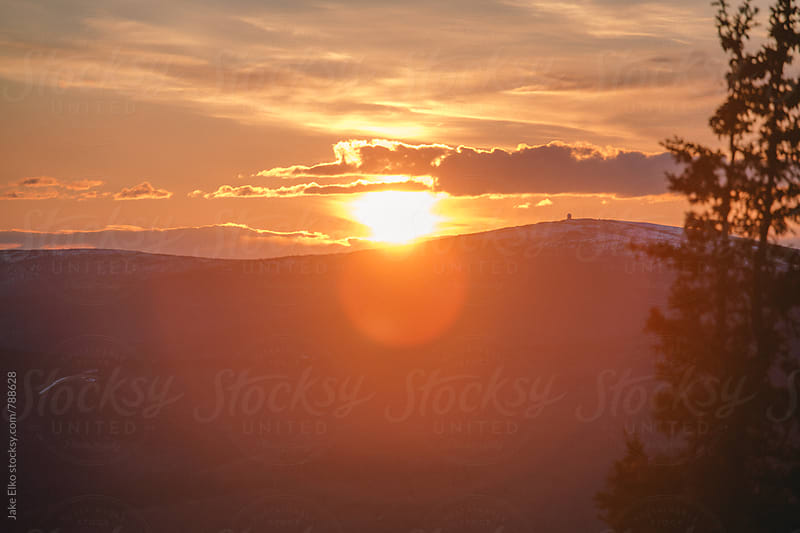 Ester Dome Sunset 1 by Jake Elko for Stocksy United