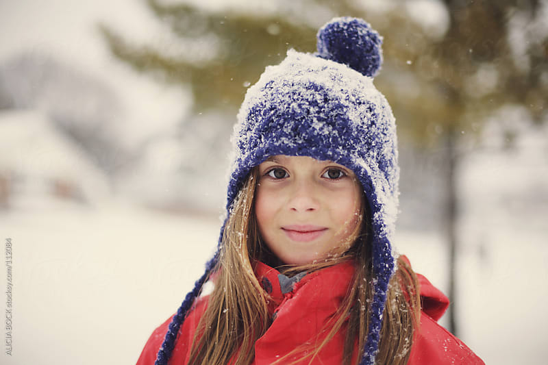 Girl In The Snow by ALICIA BOCK for Stocksy United